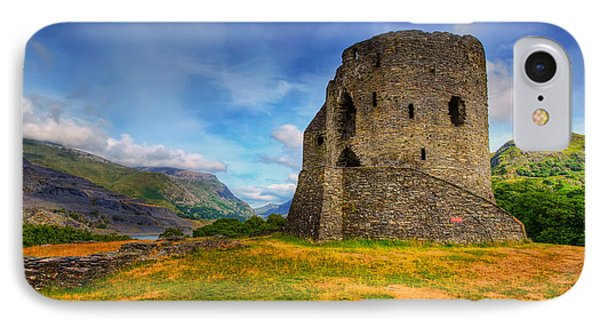 Dolbadarn Castle  Phone Case by Adrian Evans
