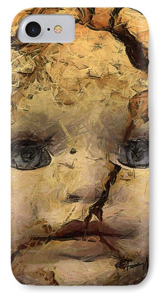 Doll Trauma Phone Case by Anthony Caruso