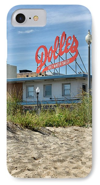 Dolles From The Beach - Rehoboth Beach Delaware IPhone Case by Brendan Reals