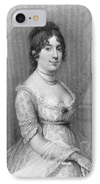 Dolley Madison (1768-1849) Phone Case by Granger