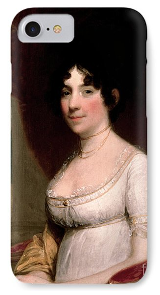 Dolley Madison, First Lady IPhone Case by Science Source