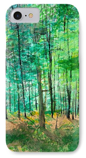 Dolly Sods Trees Phone Case by David Bartsch
