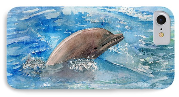 Dolphin  Phone Case by Arline Wagner