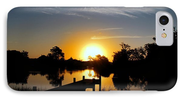 Dolphin Cove Sunrise Phone Case by Benanne Stiens