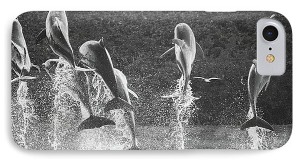 Dolphin Dance IPhone Case by Wilko Van de Kamp