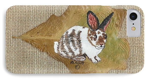 domestic Rabbit IPhone Case by Ralph Root