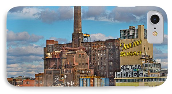 Domino Sugar Water View IPhone Case by Alice Gipson