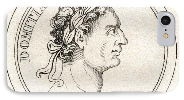 Domitian Titus Flavius Domitianus 51ad IPhone Case