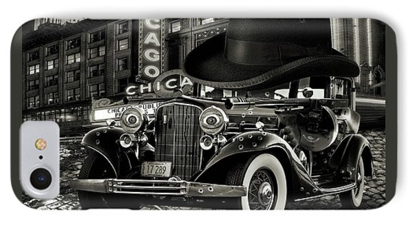Don Cadillacchio Black And White IPhone Case