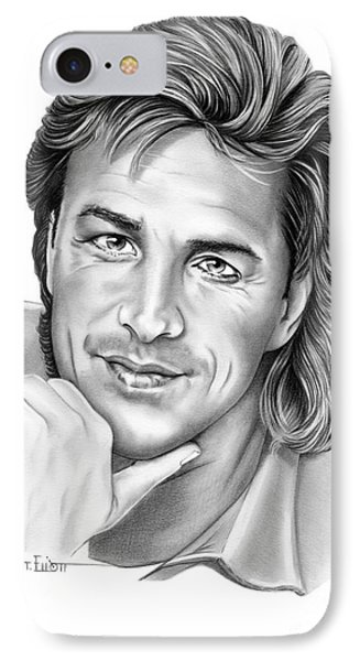 Don Johnson IPhone Case by Murphy Elliott