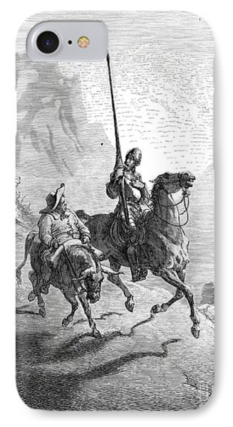 Don Quixote And Sancho Phone Case by Granger