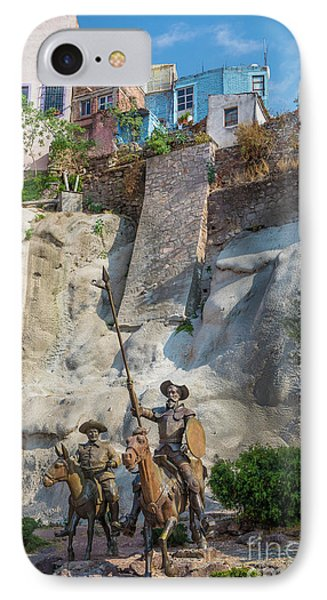 Don Quixote Y Sancho Panza IPhone Case