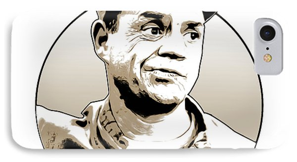 Johnny Carson iPhone 7 Case - Don Rickles by Greg Joens