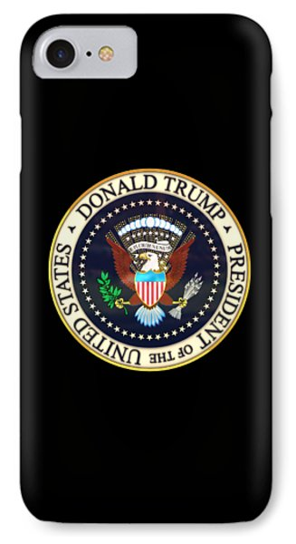 Donald Trump President Seal IPhone Case