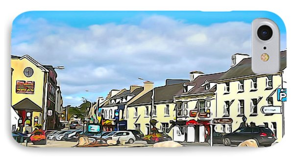 Donegal Town IPhone Case by Charlie and Norma Brock