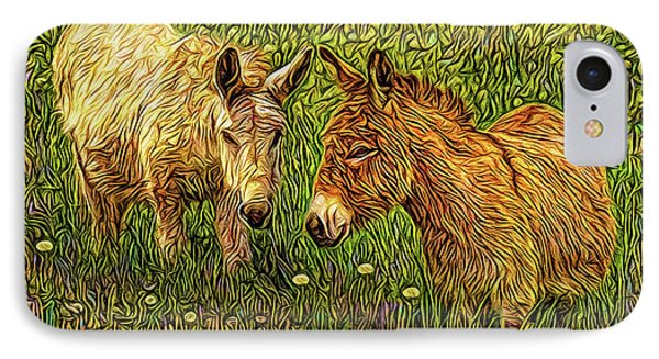 Donkey Confidential IPhone Case by Joel Bruce Wallach