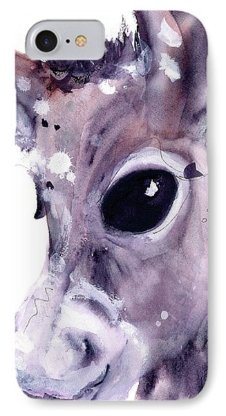IPhone Case featuring the painting Donkey by Dawn Derman