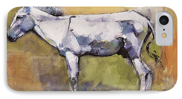 Donkey Stallion, Ronda IPhone Case by Mark Adlington