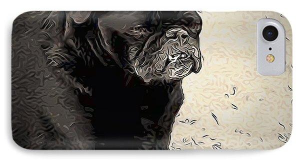 Donnas Bulldog IPhone Case