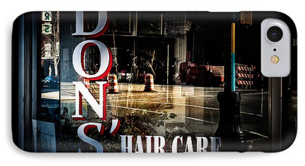Don's Reflections  Phone Case by Phillip Burrow