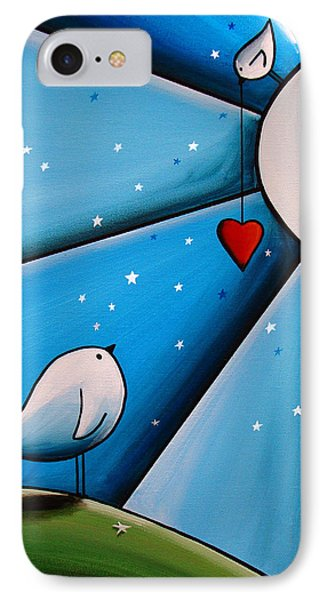 Don't Let The Stars Get In Your Eyes IPhone Case by Cindy Thornton