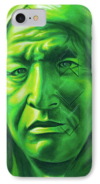 Dont Make Me Angry IPhone Case by Robert Martinez
