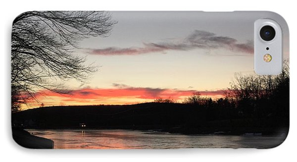 Don't  T 'red' On Thin Ice IPhone Case