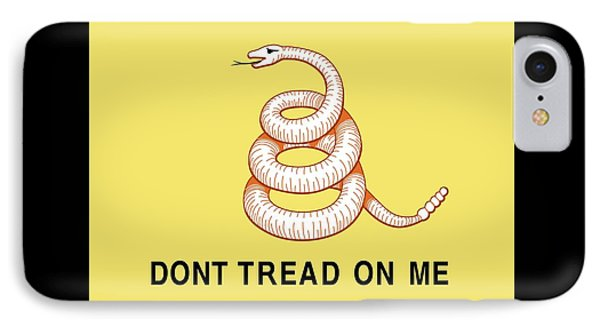 Don't Tread On Me IPhone Case by American School