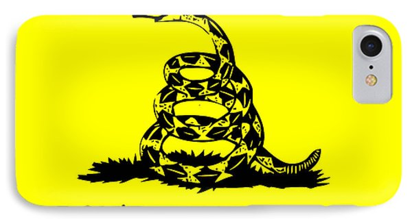 Don't Tread On Me Flag Phone Case by War Is Hell Store