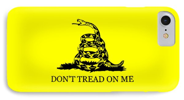 Don't Tread On Me Flag IPhone Case by War Is Hell Store