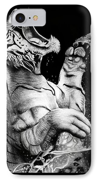 Don't Wake The Sleeping Tiger IPhone Case