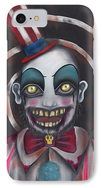 Don't You Like Clowns?  IPhone Case by Abril Andrade Griffith
