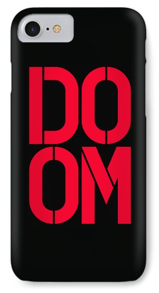 Doom IPhone Case by Three Dots