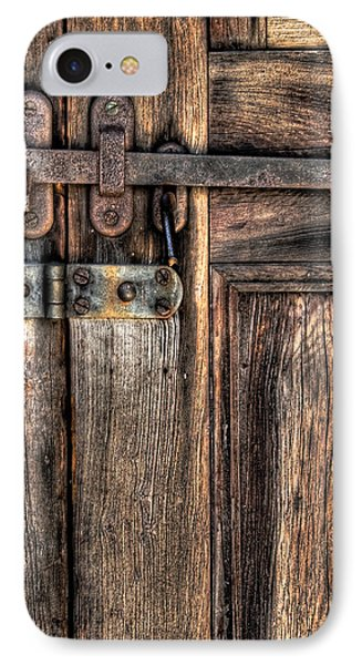 Door - The Latch Phone Case by Mike Savad