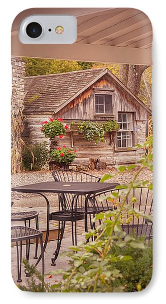 IPhone Case featuring the photograph Door County Thorp Cottage by Heidi Hermes