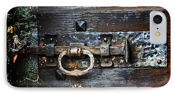 Door Latch IPhone Case by Joana Kruse