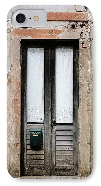 IPhone Case featuring the photograph Door No 128 by Marco Oliveira
