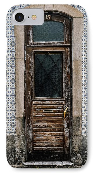 IPhone Case featuring the photograph Door No 151 by Marco Oliveira