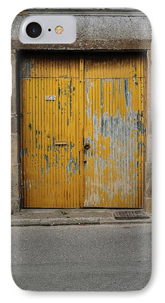 IPhone Case featuring the photograph Door No 152 by Marco Oliveira