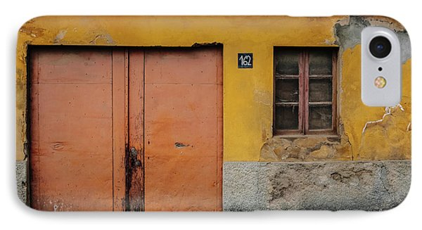 IPhone Case featuring the photograph Door No 162 by Marco Oliveira