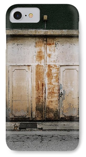 IPhone Case featuring the photograph Door No 163 by Marco Oliveira