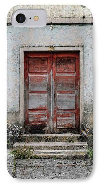 IPhone Case featuring the photograph Door No 175 by Marco Oliveira