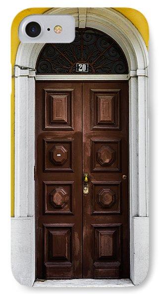 Door No 20 IPhone Case by Marco Oliveira
