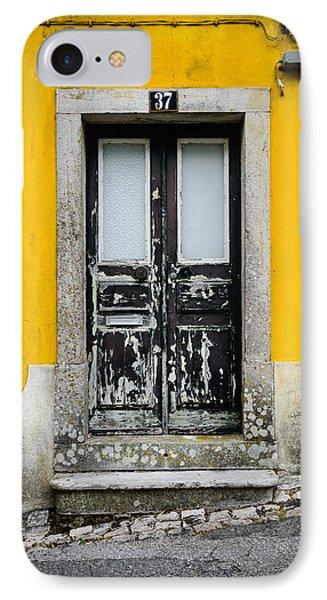 Door No 37 IPhone Case