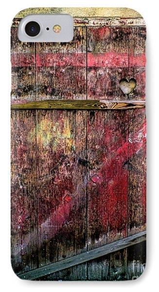 Door To My Heart IPhone Case by Karen Lewis