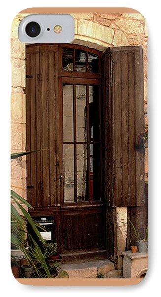 Doorway At Number 12 IPhone Case by Victoria Harrington