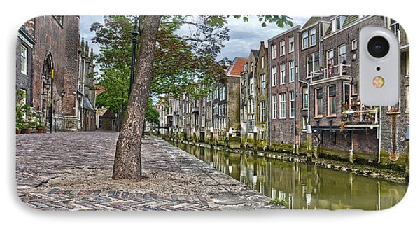 IPhone Case featuring the photograph Dordrecht Behind The Church by Frans Blok
