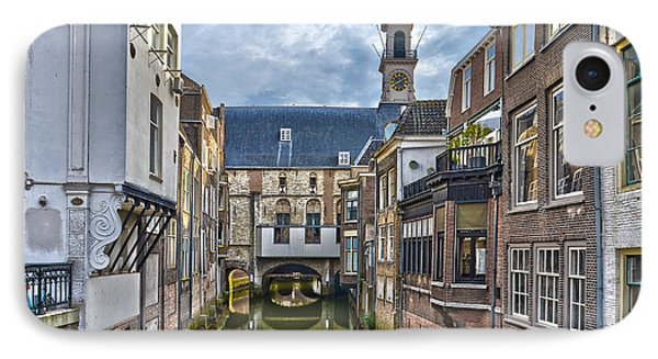 IPhone Case featuring the photograph Dordrecht Town Hall by Frans Blok