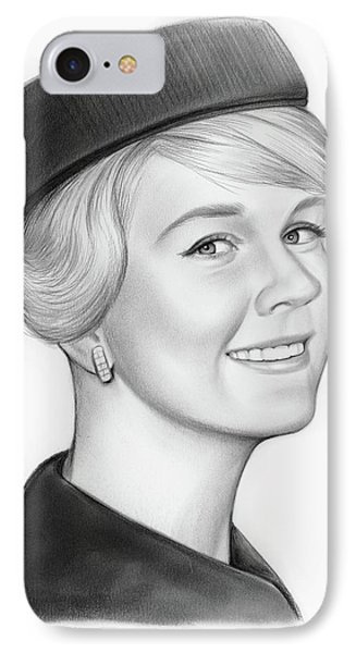 Doris Day IPhone Case by Greg Joens