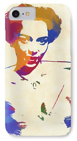 Dorothy Dandridge Watercolor IPhone 7 Case